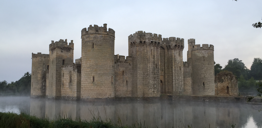 Bodiam in the mist