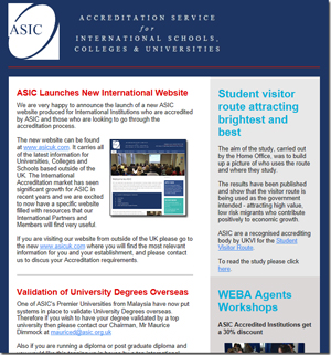 ASIC Newsletter